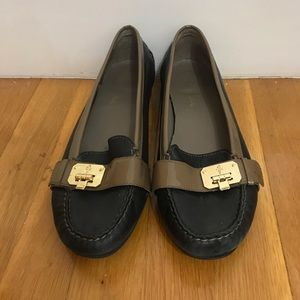 Cole Haan flats with buckle